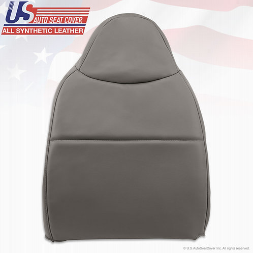 2008-2010 Ford F550 XL Work Truck Passenger Top Vinyl Seat Cover Gray