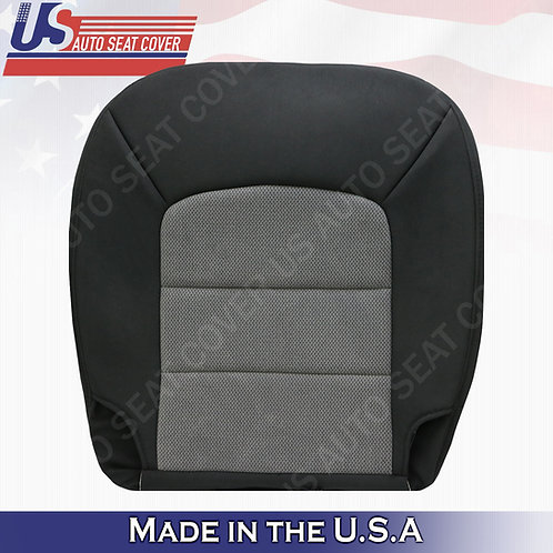 2003 to 2006 Ford Explorer XLT Driver Bottom Cloth Seat Cover 2-tone Dark Gray
