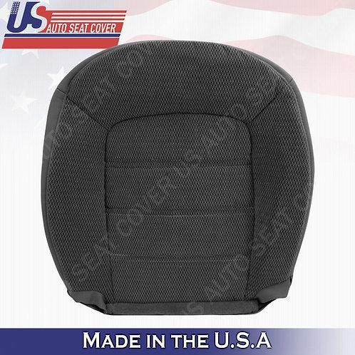 2002-2005 Ford Explorer XLT Passenger Bottom Cloth Seat Cover Dark GRAY
