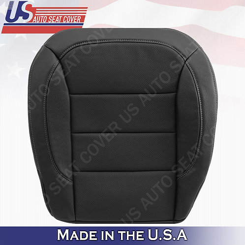 For 2012-2015 Mercedes Benz MClass Passenger Bottom Perforated Leather Cover Blk