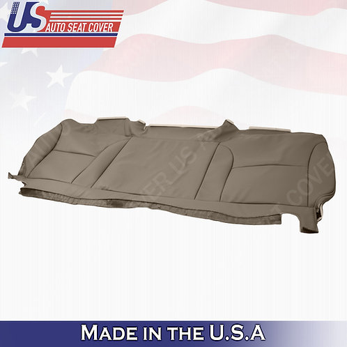 2001 International 4900 Bench Seat Cover Replacement in Tan