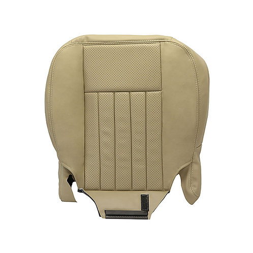 2005 2006 Lincoln Navigator Passenger Bottom Leather Seat-Cover Tan