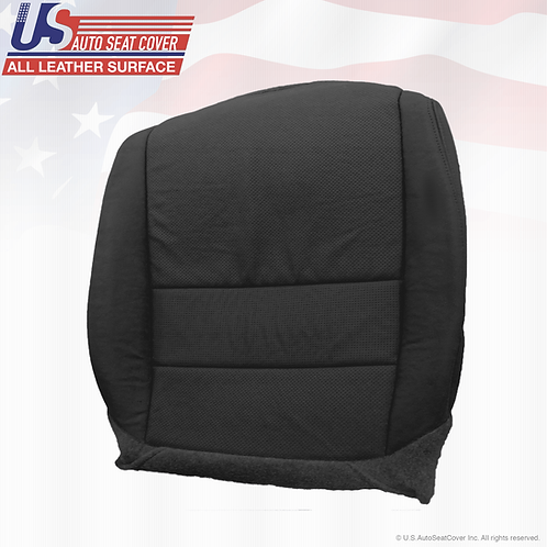For 2004 - 2008 Acura TL Driver Bottom Leather Seat Cover BLACK