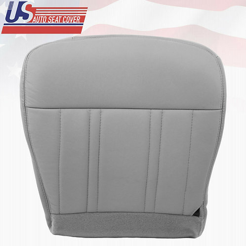 1997-1998 Ford F150 Lariat, 4x4 Single Cab Gray Passenger Bottom Seat Cover