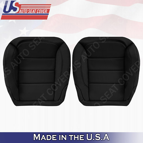 For 2012 to 2015 Mercedes Benz  ML350 250 Front Bottom Leather Cover Black