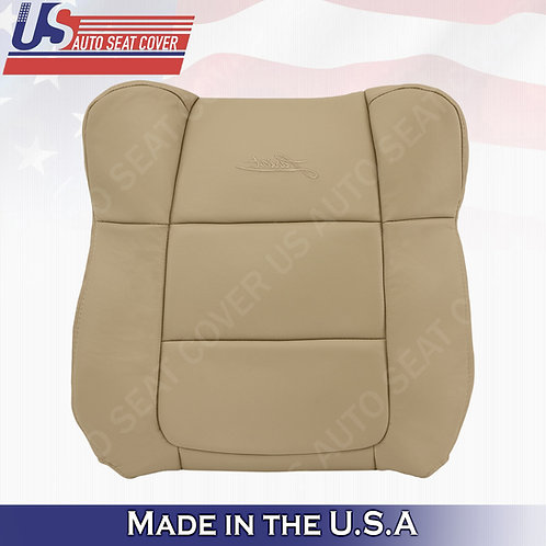 2001-2003 Ford F150 Lariat PASSENGER Top leather Cover Med. Parchment Tan