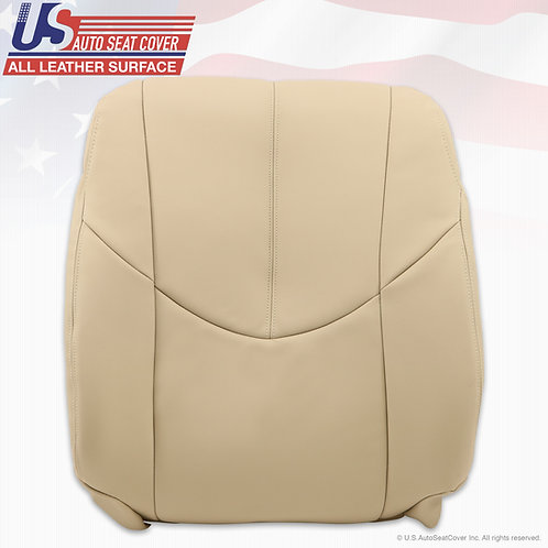 1999-2003 Lexus RX Passenger Top Leather seat cover in Light Tan