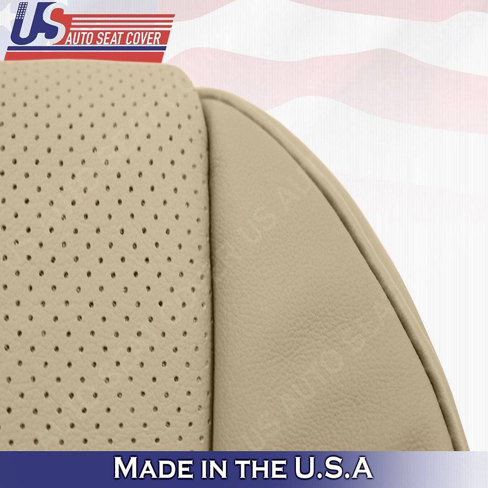 Fits 2007- 2012 Acura MDX DRIVER Bottom PERFORATED LEATHER
