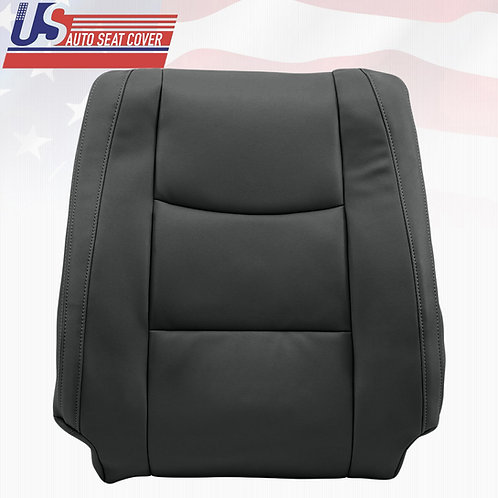2003-2009 Lexus GX470 Driver Lean Back Leather replacement in black