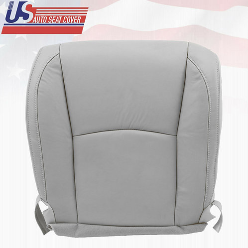 Fits 2004- 2009 Lexus RX400 Passenger Bottom Leather Seat Cover Gray