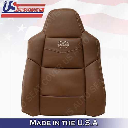 2002-2007 Ford F250 F350 King Ranch Driver Top vinyl Seat Co