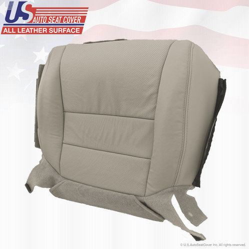 Acura TL Driver Or Passenger Bottom Leather Seat Cover Gray - 2004 acura tl seat covers