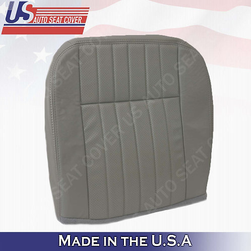 1994 1995 1996 Chevy Impala SS Passer Bottom Leather Replacement Seat Cover Gray