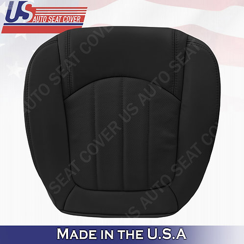 2008 -2012 Buick Enclave Driver Bottom Perforated Leather Seat Cover Black