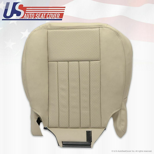 2003 2004 Lincoln Navigator Driver Bottom Perforated leather cover Light Tan