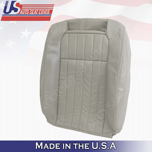 1994 1995 1996 Chevy Impala SS Passenger Top Leather Perforated Seat Cover Gray