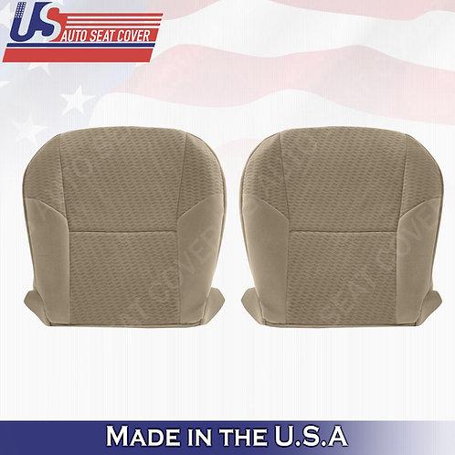 Fits 2009-2011 Toyota Tacoma Driver & Passenger Bottom Cloth Seat cover Tan