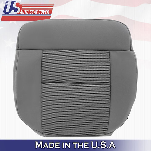 2004-2006 Ford F150 FX2 Driver Bottom Cloth Seat Cover in Gray