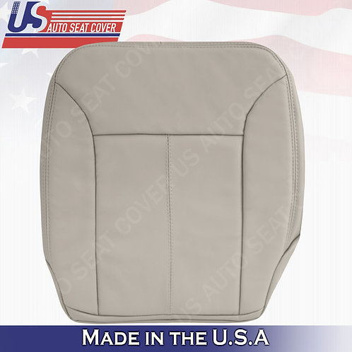 For 2007-2012 Mercedes Benz GL320 Pasenger Bottom Leather Cove GRAY W/ STITCHING