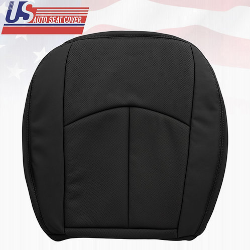 For 2006 2007 2008 2009 Mercedes E350 Driver Bottom Perforated Seat Cover Black