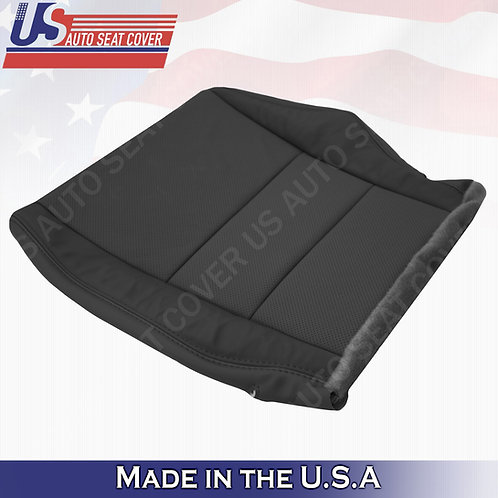 2007-2012 Acura RDX Driver bottom perforated leather in black seat cover