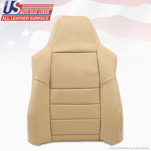 2008 09 2010 Ford F250 Lariat Driver Top Replacement Leather Cover Tan