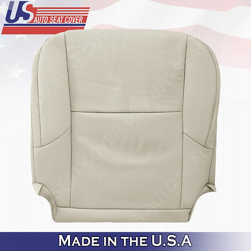 Driver Bottom Perforated Leather seat cover TAN for 2010-2017 Lexus GX460