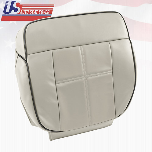 2006-2008 Lincoln Mark LT - Bottom Leather Seat Cover Light Tan