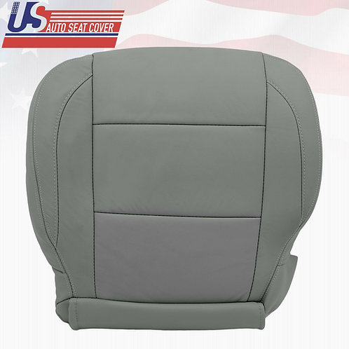 2005-2015 Gray Driver bottom Leather Seat Cover for Nissan Armada