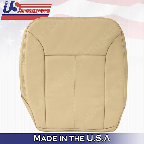 For 2007-2012 Mercedes Benz GL350 Driver Bottom Leather Cover Tan w/ Stitching