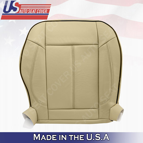 2006 To 2010 Hummer H3 Passenger Bottom Replacement Leather Seat Cover Tan