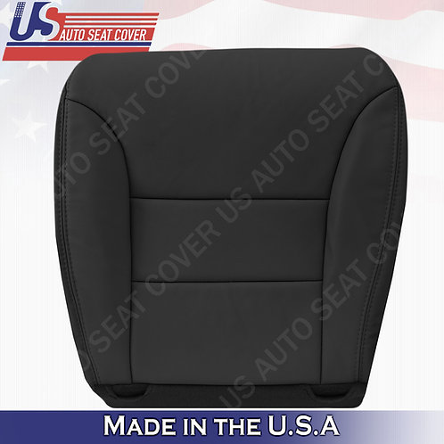 Fits 2005-2010 Honda Odyssey Driver Bottom Leather Seat Cover Black