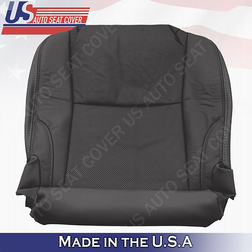 For 2006-2013 Lexus IS250 IS350 Driver Bottom Seat Cover Leather Black