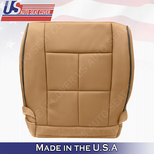 2011-2014 Lincoln Navigator Driver Bottom Synthetic Leather Cover Canyon Tan