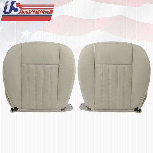 2003-2004 Lincoln Aviator Bottoms Perforated Seat Cover Light Tan