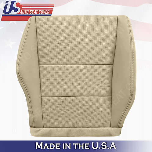 2007-2012 Acura RDX Passenger bottom perforated leather in tan seat cover