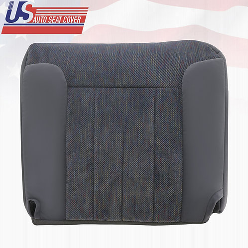 1994-1996 Dodge Ram 1500 SLT Passenger Side Bottom Cloth Cover Gray w/o Piping