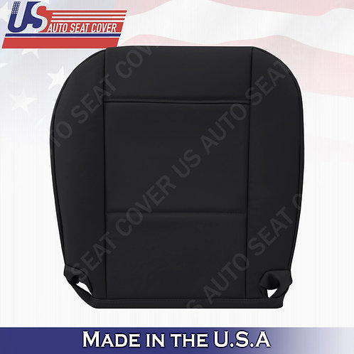 For 1999 to 2006 BMW 325I 350I Driver Bottom Leather Seat Cover Black