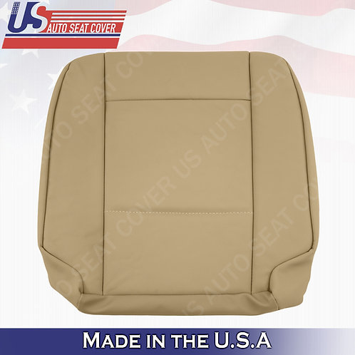 FITS 2002-2006 BMW 5 Series Passenger Bottom Leather Seat Cover Beige