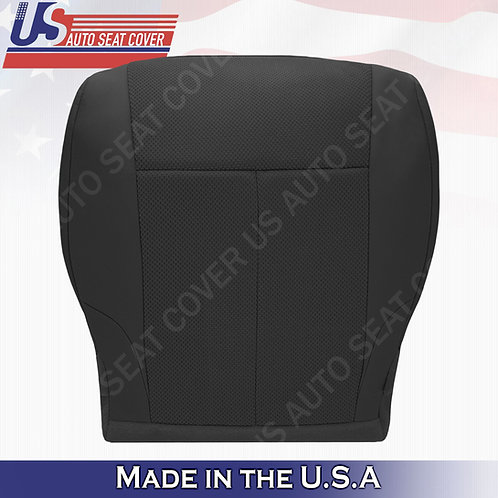 For 2007-2012 Nissan Altima Driver bottom cloth seat cover Black