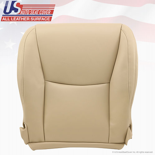 Passenger Bottom Leather Seat Cover Ivory Tan 2003 to 2009 Lexus GX470