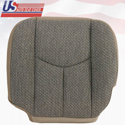 2003 2004 Chevy Silverado 2500 2500HD Work Truck Driver Bottom Cloth Cover TAN