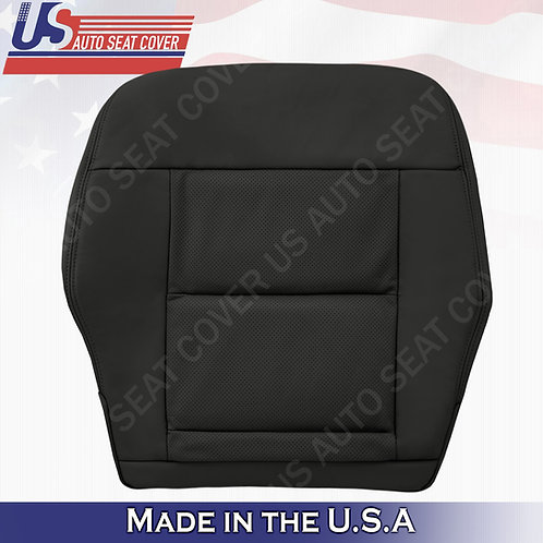For 2010-2014 Mercedes Benz E350 Driver Bottom Perforated leather Cover Black