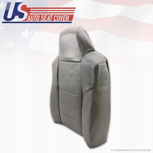 2002-2007 Ford F250 F350 Passenger Top perforated Leather Seat Cover Top