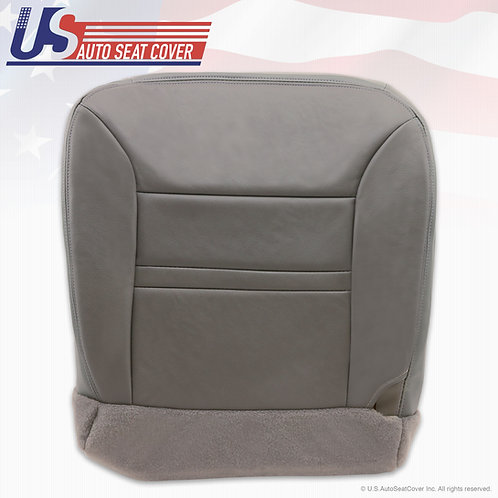 2000-2001 Ford Excursion Ltd. Passenger Bottom Replacement Leather Cover gray