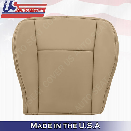 2003 to 2007 Cadillac CTS Driver Bottom Leather seat Cover Tan