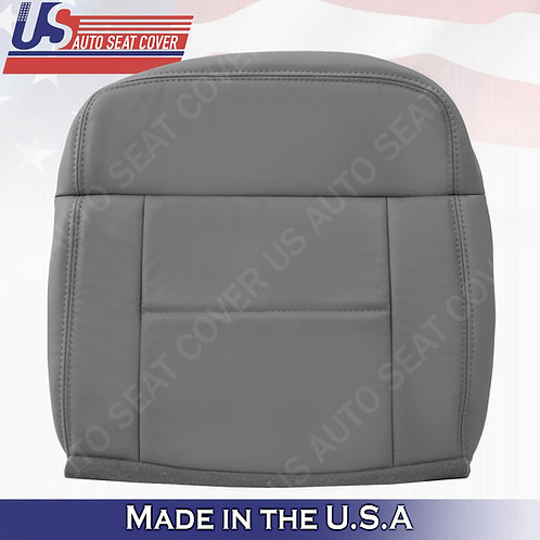 2004-2007 Ford F150 Lariat REAR Passenger Bottom Leather Gray Cover