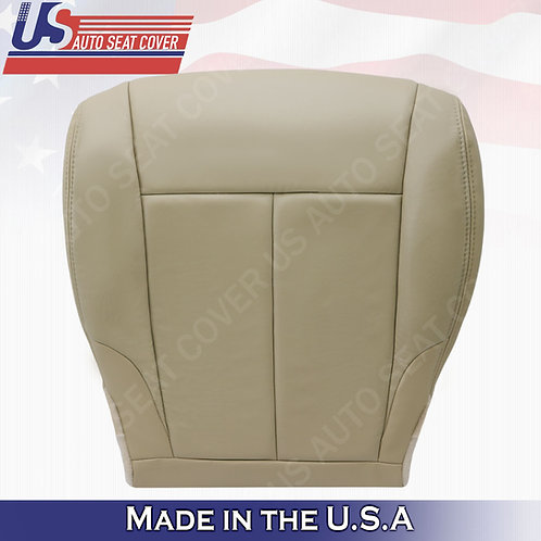For 2007-2012 Nissan Altima Driver bottom leather seat cover Tan
