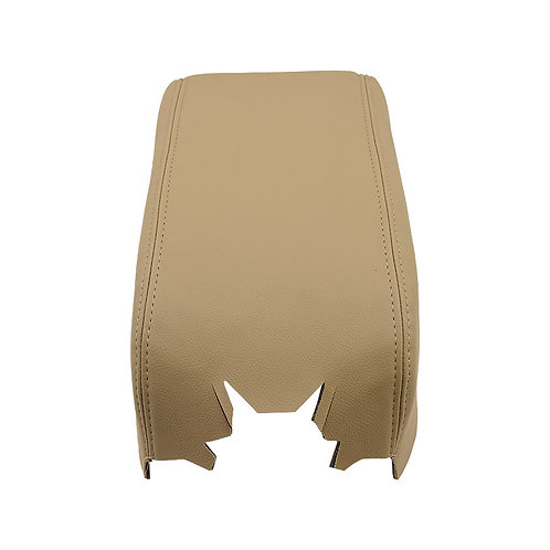 2007 2008 Ford F150 Lariat Armrest Console Lid Synthetic Leather Cover Tan