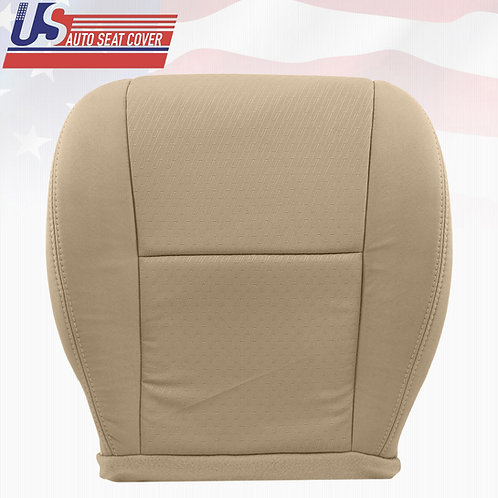 2007~2014 Chevy Silverado Passenger Side Bottom Replacement Cloth Seat Cover Tan